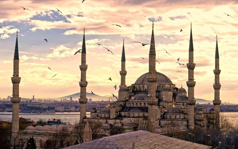 The Sultanahmet Mosque